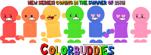 Colorbuddies Promo Picture by AnthoniArtist