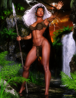 Storm in Savage Land by Agr1on