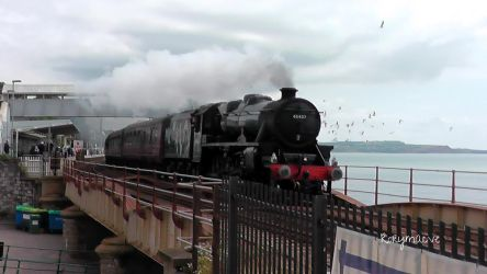 LMS 45407 'The Lancashire Fusilier' at Dawlish by The-Transport-Guild