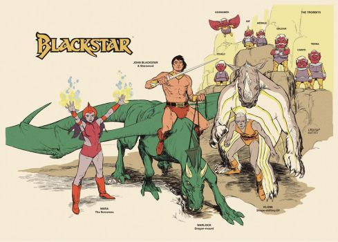 Blackstar Heroes by Laemeur