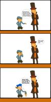 Professor Layton and the Malignant Growth by drockNation