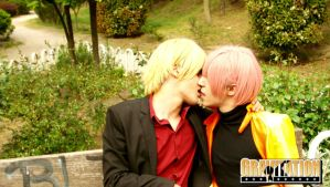 Gravitation Kiss by emitatufan
