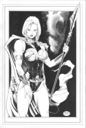 Valkyrie, of the Defenders by MichaelBair