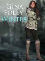 Gina Foley - WInter - XPS by xZombieAlix