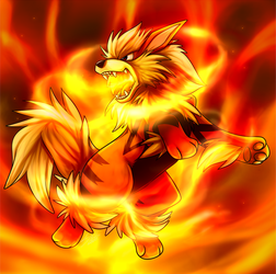 Arcanine by TehBobcat
