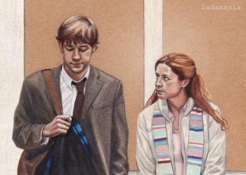 The Secret - Jim and Pam by Ladamania