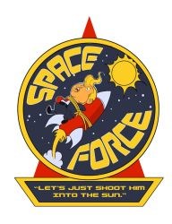 Space Force Logo by cwalton73
