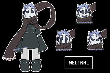 Neutral (Undertale OC) by The-NoiseMaker