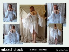 Corset - Tie Pack by mizzd-stock