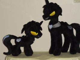 Chaos The Tar Pony Colt by WhiteDove-Creations