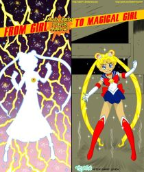 From Girl To Magical Girl! by Dyel75