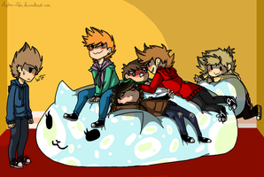 [EDDSWORLD!] Draw your squad #2 by Little-Macrophage