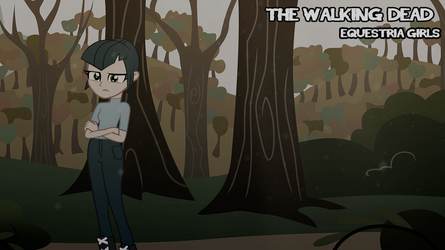 The walking dead. Equestria girls. by ngrycritic