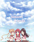 Blossom Friends by kuriidono