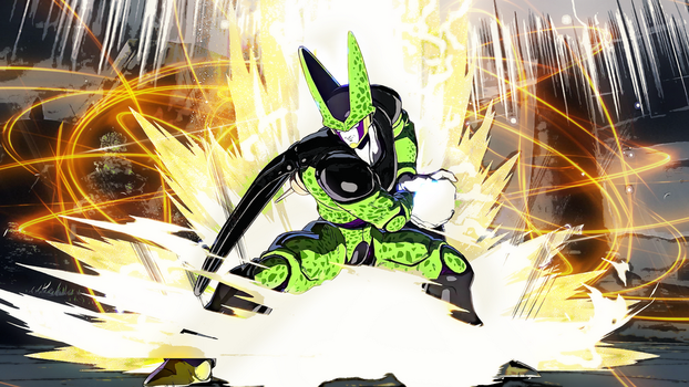 Perfect Cell Dragon Ball FighterZ by bodskih