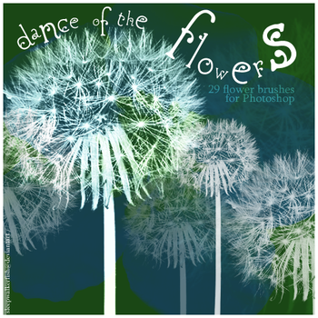 Dance of the flowers - brushes by sleepwalkerfish