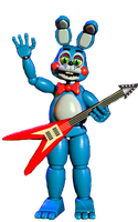 Toy bonnie full body by JoltGametravel