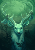 White Stag by peregyr
