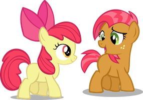 Apple Bloom and Babs Seed by OathOfCalm