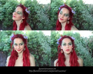 Fae faces 3 by faestock