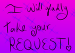Taking Your Request by Soshadilver
