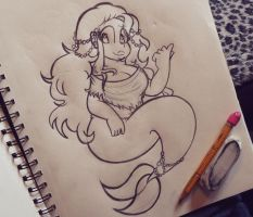 Willow as a Mermaid by ChristinaDoodles