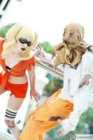 Harley and Scarecrow Escape from Arkham by ArrhythmiaNyx