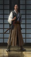 Samurai concept by EthicallyChallenged
