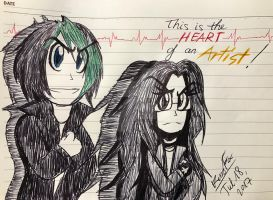 {!x.:Heart Of An Artist:.x!} by KurobaFox1412