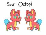 Custom for Ani! Sour Octopi! by VixessRin