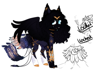 Luna x Queen Novo [AUCTION OPEN] by Vhilinyar