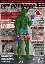 Zapedy on the front cover of GBM by TEMPHUiBIS