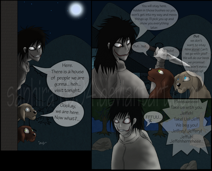 Adventures With Jeff The Killer - PAGE 4 by Sapphiresenthiss