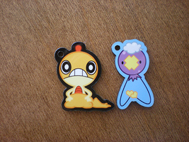 Pokemon: Scraggy and Drifloon Charms