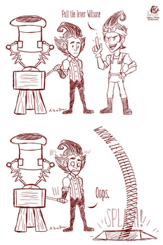 DST: Wrong Lever by Aileen-Rose