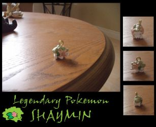 Shaymin keychain charm by G-manluver