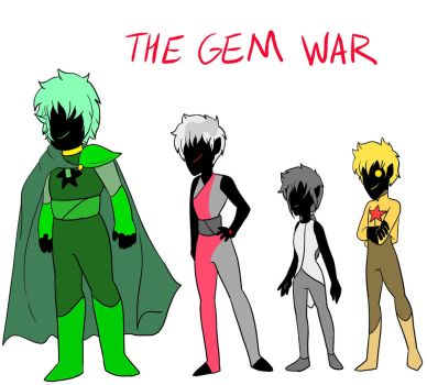 The Gem War by Queen-vaeGa