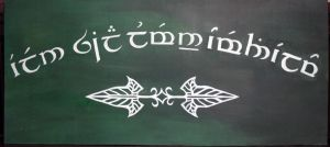 An Elvish Greeting by theoneandonly
