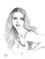 Alison Brie Sketch by DocRedfield
