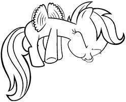 scootaloo and rainbow dash coloring pages - photo #6
