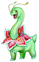 Watercolored Meganium