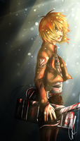 SnK: Armin by wasipol