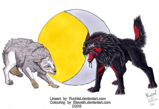 The night is coming - coloured by Ruchiel