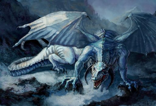 Ice Dragon by thegryph