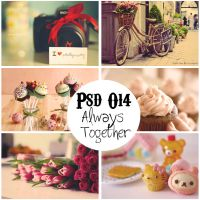 PSD O14 Always together by Guadaeditions