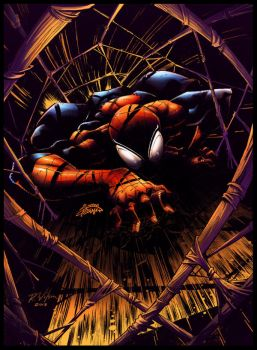 BA Color Battle Spider-man by rkw0021