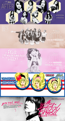 After School - Facebook Headers 2014 by twnchest