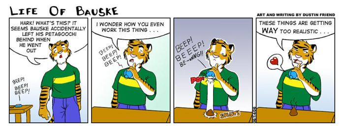 Life of Bauske: Comic 3 by Bauske