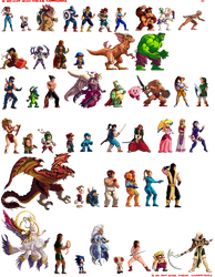 Sprites Compilation 1 by Nighteba