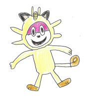 HJ - Chip as Meowth by dth1971